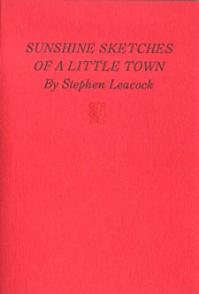 Review | Sunshine Sketches of a Little Town, Stephen Leacock, illus. by Seth